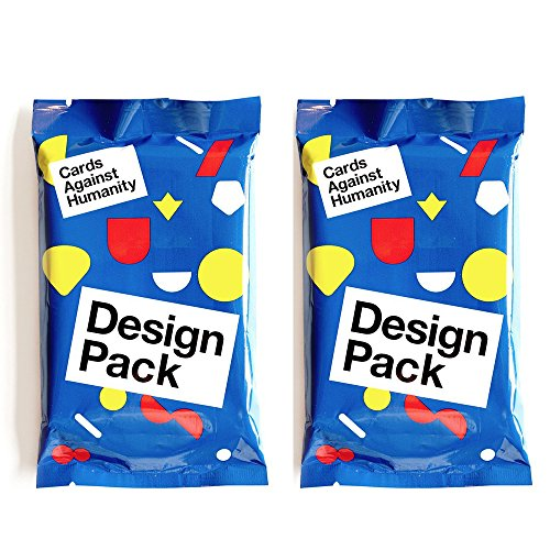 Preisvergleich Produktbild 2 pcs of Cards Against Humanity Design Pack