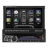 7 Zoll TFT-Bildschirm 1Din In-Dash abnehmbares Bedien Car DVD Player Autoradio Receiver mit GPS, BT, RDS, iPod, Touch Screen