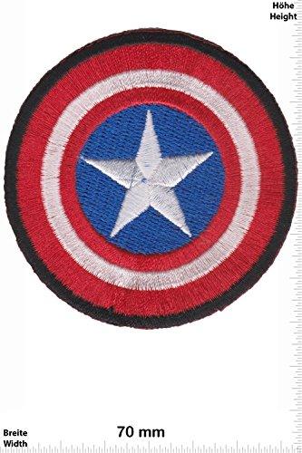 Patch - Captain America - The First Avenger - Movie Game Patch - Cartoon - Comic - Patches - Aufnäher Embleme Bügelbild Aufbügler - Costume