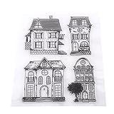 Sammelalbum Fotokarten Stempel Klare Transparente Briefmarken Haus DIY Scrapbooking / Kartenherstellung / Kinder Spaß Dekoration Lieferungen