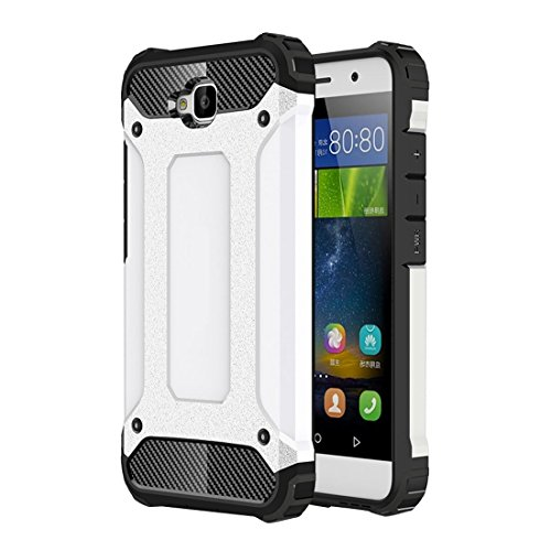 GHC Cases & Covers, Für Huawei Enjoy 5 Tough Armor TPU + PC Kombinationskoffer ( Color : White ) (Iphone 5c Fällen Wie Speck)