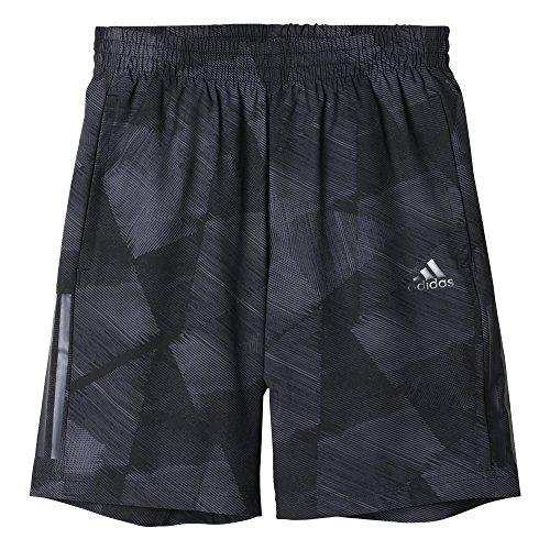 adidas Yb TR 3S wv SH Shirt, Kinder, Kinder, Yb Tr 3S Wv Sh, Schwarz (Schwarz/Granit)