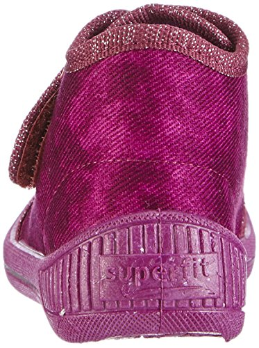 Superfit Bully, Chaussons hauts, non doublés fille Violet - Violett (MAGIC 40)