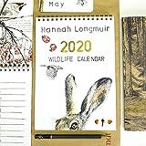 2020 Wildlife Calendar by Hannah Longmuir