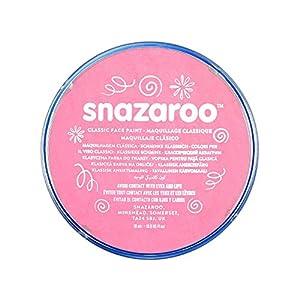 Snazaroo - Pintura facial y corporal, 18 ml, color rosa pálido