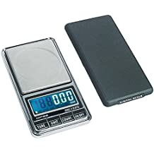 DIPSE USB 200 - Digitale Feinwaage / Taschenwaage mit USB-Anschluss ohne Abschaltautomatik die in 0,01g Schritten präzise bis 200g wiegt