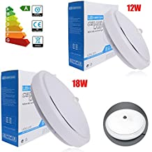 THG 36smd 573018 D¨ªa redondo blanco PIR LED de componentes de montaje superficial empotrar techo Downlight sensor de luz