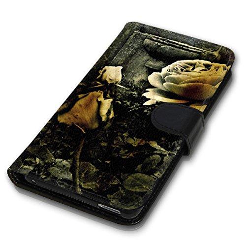 Wallet Book Style Flip Handy Tasche Case Schutz Hülle Schale Motiv Etui für Apple iPhone 5 / 5S - Variante UMV5 Design12 Design 8
