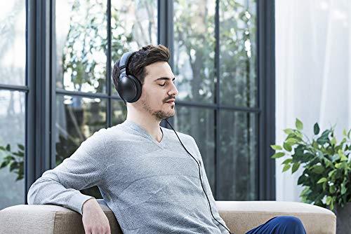 Panasonic RP-HD605NE-K Bluetooth Noise Cancelling Kopfhörer (bis 20 h Akkulaufzeit, Quick Charge, Sprachsteuerung, schwarz) - 14
