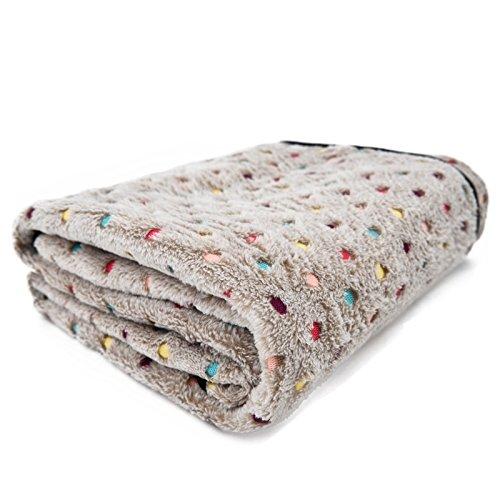 PAWZ Road flauschige Hundedecke in drei Farben und drei Größen erhältlich Beige S (Hunde Decke)