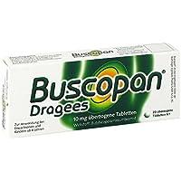 BUSCOPAN Dragees 20 St Überzogene Tabletten preisvergleich bei billige-tabletten.eu
