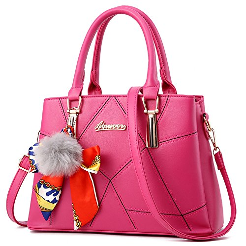 Ghlee, Borsa a spalla donna Rose Red