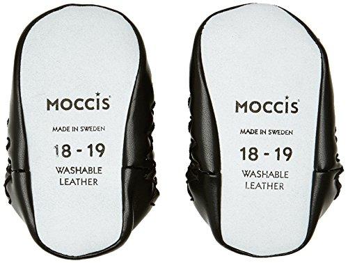 Moccis Get Your Antlers On, Premiers pas Mocassins Mixte bébé Blanc (White/Black)