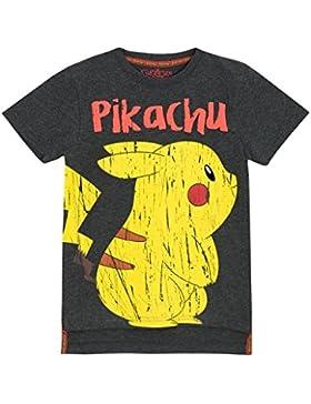 Pokemon - Camiseta para niño Pikachu