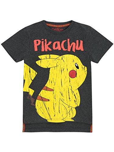 Pokèmon - Camiseta para niño Pikachu - 11 a 12 Años