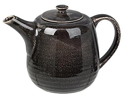 """'Théière cafetière """"Nordic Coal de Broste Copenhagen Noir/marron 1,3l"""