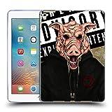 Head Case Designs Schweine Gesicht Maske Soft Gel Hülle für Apple iPad Pro 9.7