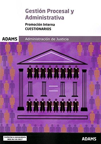 Cuestionario Gestión procesal y administrativa, promoción interna por Obra colectiva