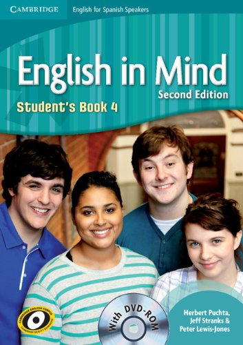English in Mind for Spanish Speakers 4 Student's Book with DVD - ROM