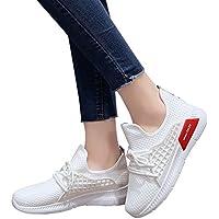 Chaussures Femmes, Sonnena Femme Chaussure de Course en Tissu Extensible  Chic Baskets Jogging Fitness Respirant 354789d89138