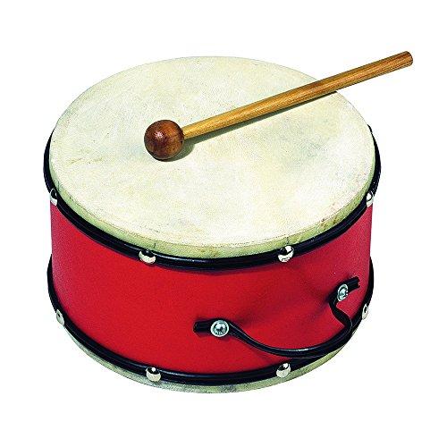 goki-uc018-musikinstrument-trommel-mit-holzschlagel