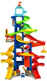 Mattel Fisher-Price BGC34 - Little People Hochhausrennbahn, 90 cm