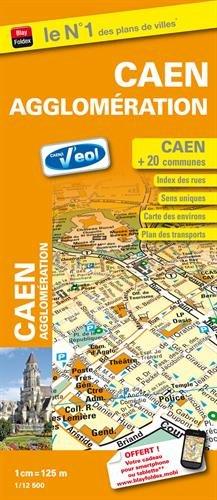Caen agglomération : 1/12 500 par Blay-Foldex