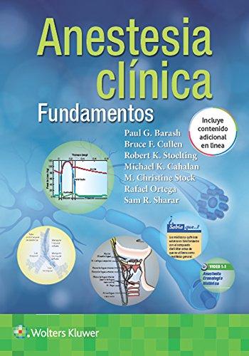 Barash. Fundamentos de anestesia clínica (Spanish Edition)