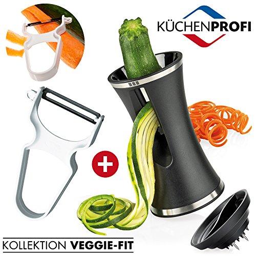 ANGEBOT! Küchenprofi - Spiralschneider Vegatelli + Sparschäler
