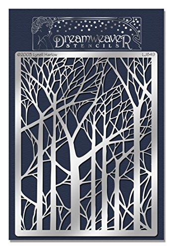 stampendous-fustella-in-metallo-dreamweaver-stencil-4-x-17-bare-alberi