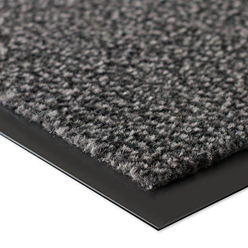 etm® Schmutzfangmatte - Note 1,6: Sieger Preis-Leistung - Fußmatte in vielen Größen - Fußabstreifer für Haustür innen und außen (Anthrazit-Schwarz, 60x90 cm) - 2