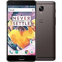 One Plus Smartphone portable débloqué 4G (Ecran: 5,5 pouces - 128 Go - Double SIM - Android) Gunmetal