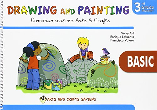 Drawing and Painting 3 Basic - 9788416168798 por Vicky Gil