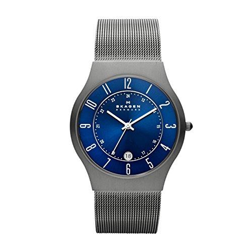 dc886d0451cb Skagen Slimline233XLTTN - Reloj de caballero de cuarzo