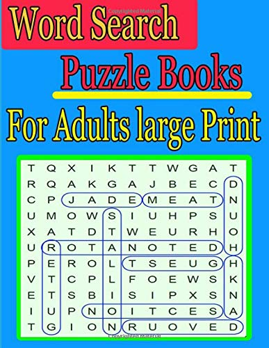 word search puzzle books for adults large print: Are you fond of word games? Go!Games Word Search: 200 Great Puzzles Word Search cleverly hidden in por ja kiw