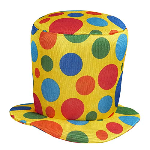 WIDMANN Sancto Clown Top Hat