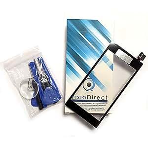 Vitre ecran tactile pour Sony Xperia M2 D2302 D2303 D2305 D2306 noir + outils - Visiodirect -