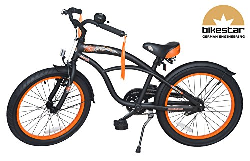 bikestar premium sicherheits kinderfahrrad 20 zoll f r. Black Bedroom Furniture Sets. Home Design Ideas