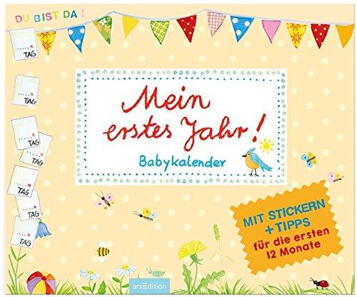 Mein erstes Jahr!: Babykalender