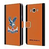 Head Case Designs Offizielle Crystal Palace FC Away Torwart Trikot 2018/19 Spieler Kit Brieftasche Handyhülle aus Leder für Samsung Galaxy J7 (2016)