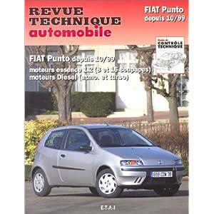 Revue technique automobile : Fiat Punto, depuis Octobre 1999