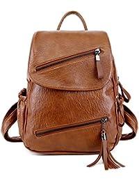 b5d2eafe57e78 DEERWORD Mujer Bolsos mochila Bolsas escolares Bolsos bandolera Shoppers y  bolsos de hombro Cuero de PU