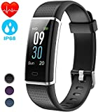 AIMIUVEI Fitness Tracker Smartwatch Cardiofrequenzimetro da Polso Schermo a Colori Pedometro GPS...