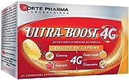Ultra Boost 4G | Complément Alimentaire Booster d'énergie | - A base de Caféine et d'Acérola | 20 comp