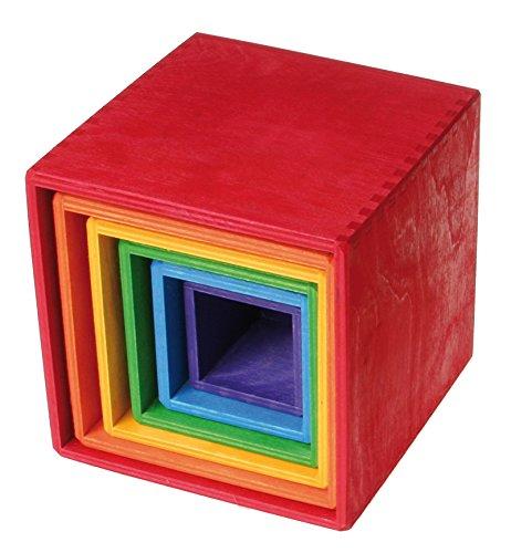 Los juguetes de los hermanos Grimm bloques de arco iris