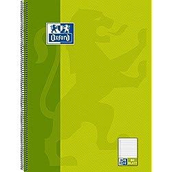 Hamelin 384408027 Oxford - Lote de cuadernos (10 unidades, A4, con espiral, lineado 9 mm, 80 páginas)