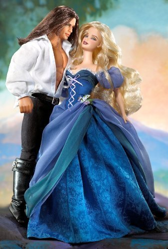 Barbie Romance Novel Collection Jude Deveraux the Raider Barbie & Ken Set by Mattel