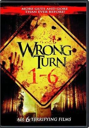 Wrong Turn 1 - 6 Complete Collection DVD (Wrong Turn 1 / 2: Dead End / 3: Left For Dead / 4: Bloody Beginnings / 5: Bloodlines / 6: Last Resort) -