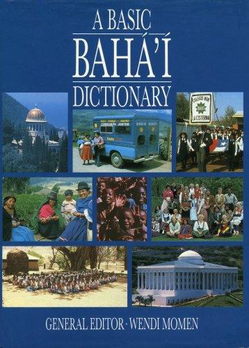 A Basic Baha'i Dictionary
