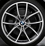 Original BMW Alufelge 5er F10-F11-LCI V-Speiche 356 Glanzgedreht in 20 Zoll für hinten